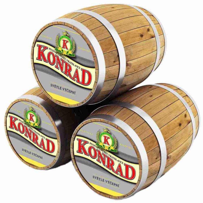 Конрад  лежак / KONRAD  SVETLY LEZAK, keg. алк.4,8%