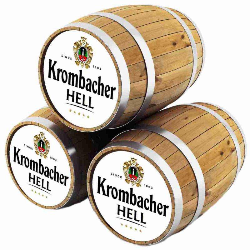 Кромбахер Хель / Krombacher Hell,keg. алк.5%