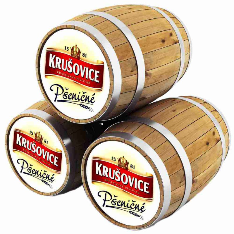 Крушовице Пшеничне / Krusovice Psenicne, keg. алк.4,6%