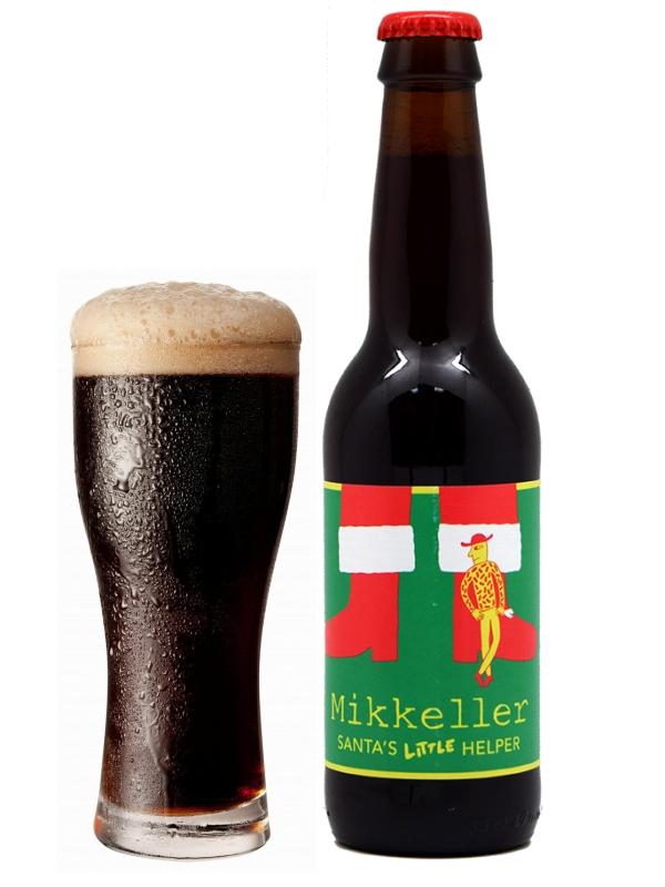 Миккеллер Сантас Литл Хелпер Белджн Стронг Эль/Mikkeller Santas Little Helper 0,33л. алк.10,9%