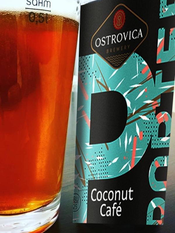 Островица Тёмный Эль / Ostrovica Coconut Cafe 0,5л. алк.8% ж/б.