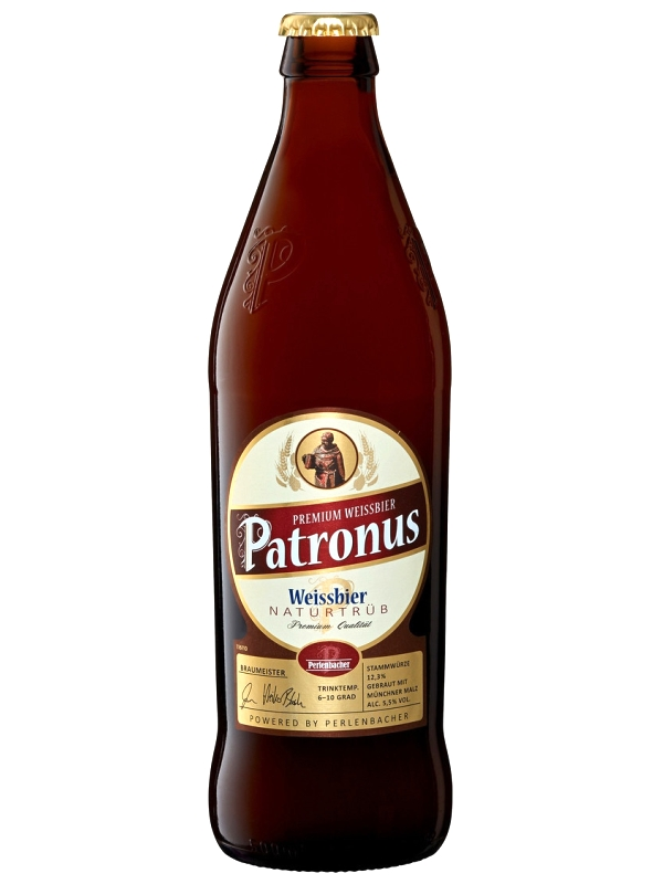 Патронус Вайссбир Натуртруб / Patronus Weissbier Naturtrub 0,5л. алк.5,5%