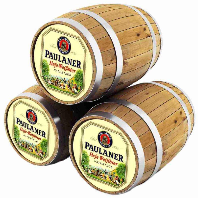 Пауланер Хефе-Вайсбир / Paulaner Hefe-Weissbier,keg. алк.5,5%