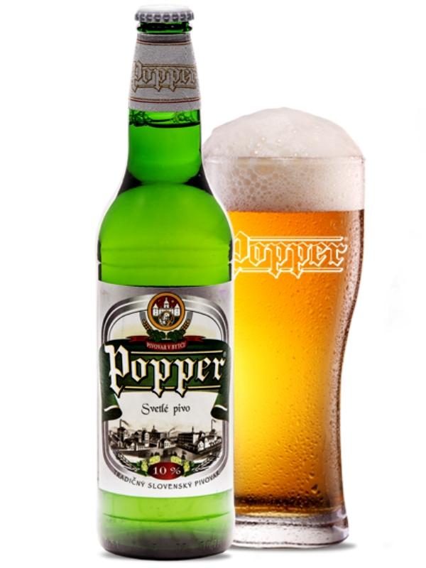 Поппер 10% / Popper 10% Svetle  алк. 4.1%