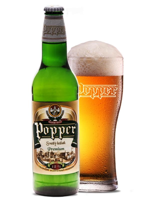 Поппер Премиум Светле 12% / Popper Premium Svetle 12% алк. 5%