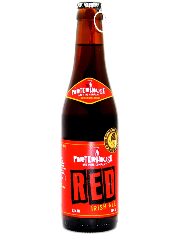 Портерхаус Рэд Ириш Эль / Porterhouse Red Ale 0,33л. алк.4,2%