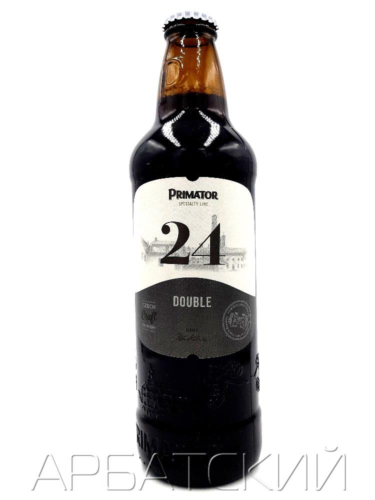Приматор 24 Дабл / Primator 24 Double 0,5л. алк.10,5%