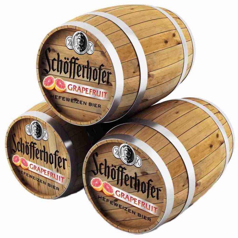 Шофферхофер Грейпфрут / Shofferhofer Grapefruit, keg. алк.2,5%