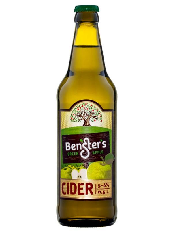 Сидр БЕНСТЕРС Классический / Bensters classic 0,5л. алк.6%