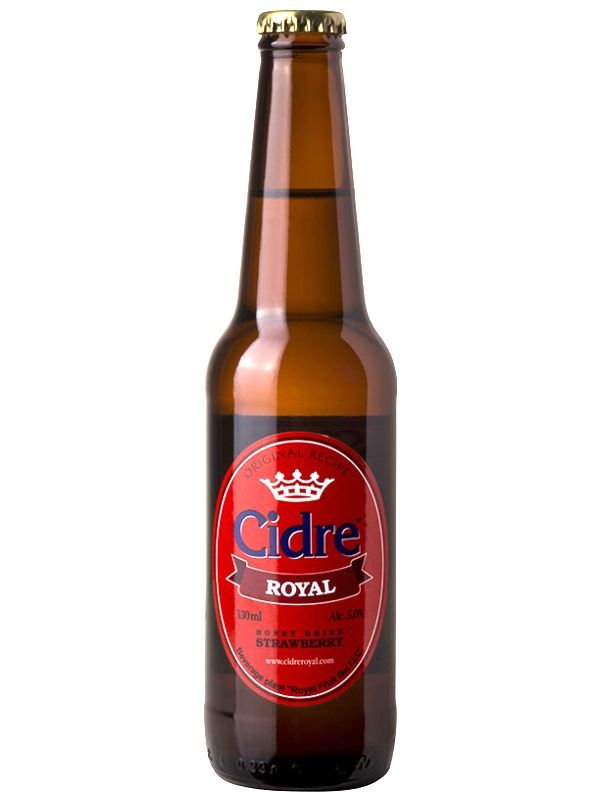 Сидр Роял Медовуха Клюквенная / Cidre Royal with Cranberry 0,33л. алк.5%