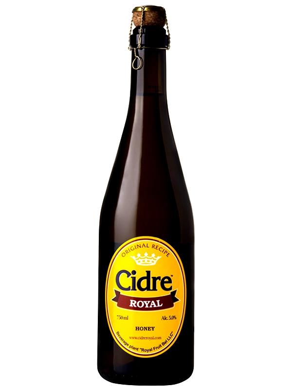 Сидр Роял Яблочный с грушей п/сл / Cidre Royal with Pear 0,75л. алк.5%