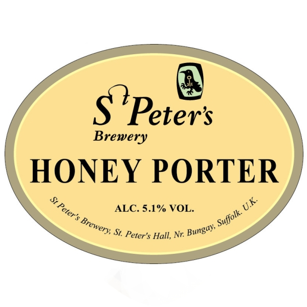 Ст.Петерс Хани Портер / St. Peter_s Honey Porter, keg. алк.4,5%