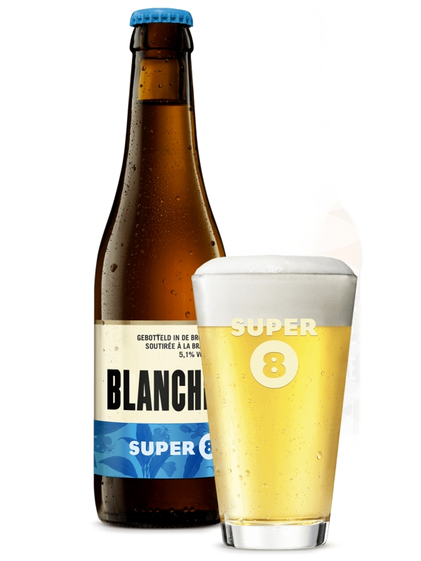Супер 8 Бланш / Super 8 Blanche 0,33л. алк.5,1%
