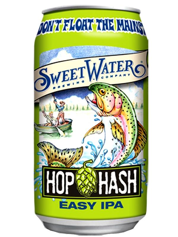 СвитВотер Хоп Хэш / Sweet Water Hop Hash Easy IPA 0,355л. алк.4,2% ж/б.