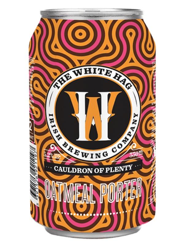 Уайт Хаг Каулдрон оф Плэнти Оатмил Портер / White Hag Cauldron of Plenty Oatmeal Porter 0,33л.алк.5,2% ж/б.