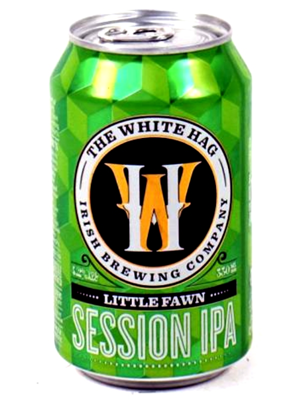 Уайт Хаг Литтл Фоун Сешн ИПА/White Hag Little Fawn Session IPA 0,33л. алк.4,2% ж/б.