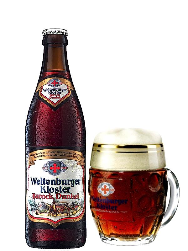 Вельтенбургер Клостер Барокк Дункель / Weltenburger Kloster Barock Dunkel, 0,5л. Алк. 4,7%.