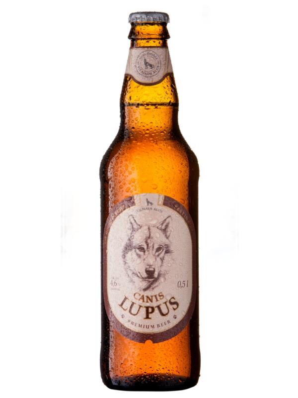 Вильнюс Серый Волчонок /  Vilniaus Canis Lupus 0,5л. алк.4,6%