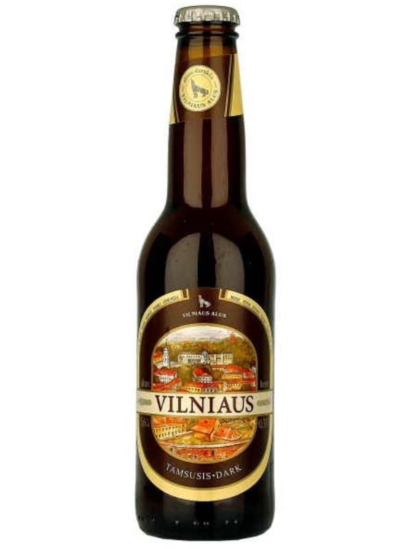 Вильнюс Темное /  Vilniaus Tamsusis 0,33л. алк.5,6%