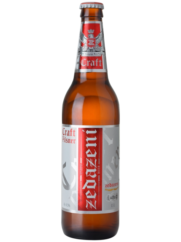 Зедазени Крафт Пилснер / Zedazeni Craft Pilsner 0,5л. алк.4,5%