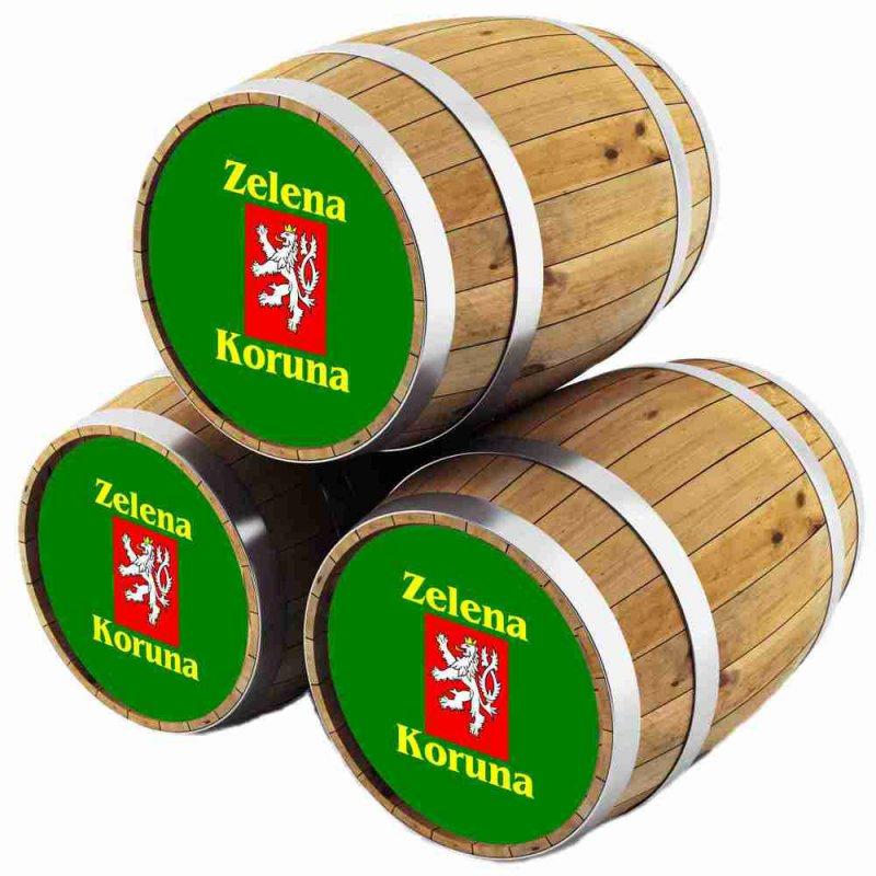 Зелена Коруна Лежак / Zelena Koruna Lezak, keg. алк.4%