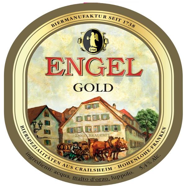 Энгел Золотой Ангел / Engel Gold, keg. алк.5,4%