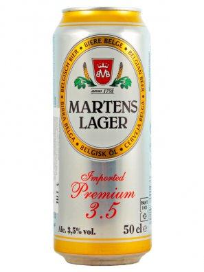 Мартенс Лагер / Martens Lager 0,5л. алк.3,5% ж/б.
