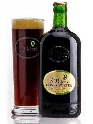 Ст.Петерс Хани Портер / St. Peter's Honey Porter 0,5л. алк.4,5%