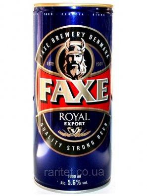 Факс Роял / Faxe Royal 1л. алк.5,6% ж/б.