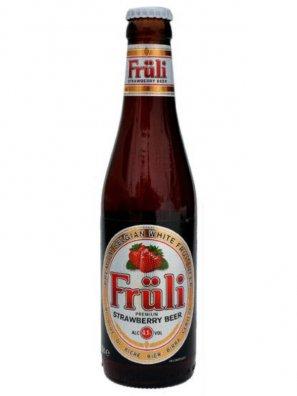 Фрули Строберри / FRULI STRAWBERRY 0,33л. алк.4,1%