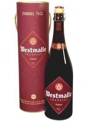 Вестмалле Траппист Дубль / Westmalle Trappist Dubbel (0,75л в тубусе) алк.7%