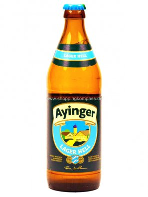 Айингер Лагер Хелль / Ayinger Lager Hell 0,5л. алк.4,9%