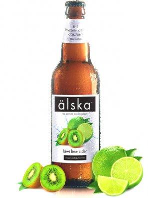 Альска киви и лайма / Alska Kiwi  Lime 0,5л. алк.4,0%