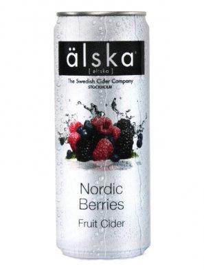 Альска Лесные Ягоды / Alska Nordic Berries 0,33л. алк.4,0%