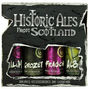Пивной набор Исторические Шотландские Эли (0,33л. 4бут.)