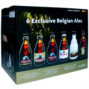 Пивной набор Коллекция / Exclusive Belgien Ales (0,33л. 6бут.)