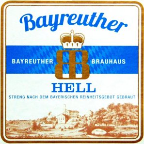 Байройтер Хель / Bayreuther Hell, keg. алк.4,9%