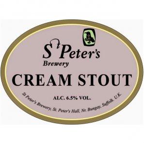 Ст.Петерс Крим Стаут / St. Peter's Cream Stout, keg. алк.6,5%