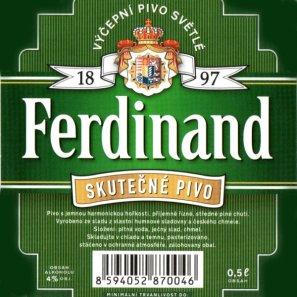 ФЕРДИНАНД ПРЕМИУМ ЛАГЕР / Ferdinand Premium Lager, keg. алк.5%