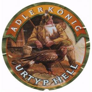 Хесс Адлеркениг Уртюп хелль / Hoss Adlerkonig Urtyp Hell, keg. алк.4,7%