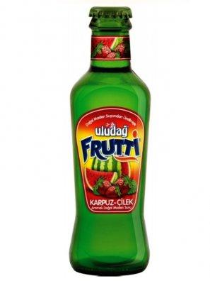 Напиток б/а Улудаг Фрутти со вк. арбуза и клубниуи / Uludag Frutti 0,2л.