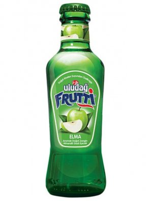Напиток б/а Улудаг Фрутти со вк. зеленого яблока / Uludag Frutti 0,2л.