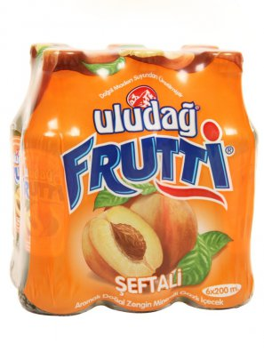 Напиток б/а Улудаг Фрутти со вк. персика / Uludag Frutti 0,2л.
