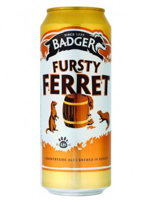 Баджер Фёрсти Феррет / Badger Fursty Ferret 0,5л. алк.4,4% ж/б.
