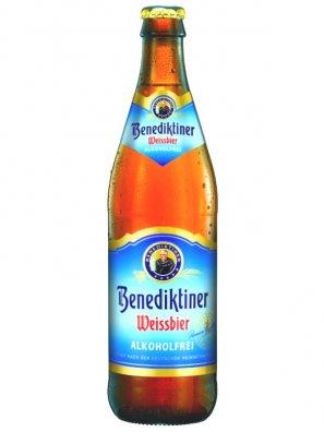 Бенедиктинер Вайсбир б/а / Benediktiner Weissebier Alkoholfrei 0,5л.