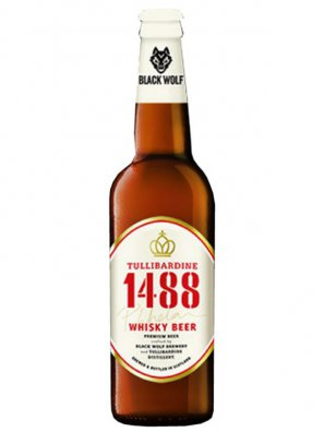 Блэк Вульф 1488 Премиум Виски / Black Wolf 1488 Whisky Beer 0,33л. алк.7%