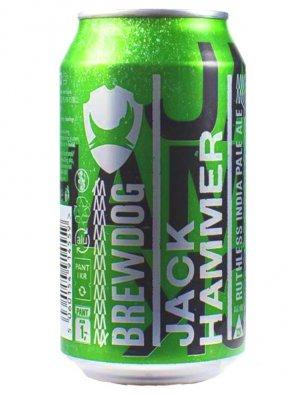 Брюдог Джек Хаммер / BrewDog Jack Hammer 0,33л. алк.7,2% ж/б.