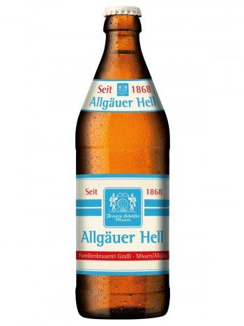 Альгоер  Хель / Algauer Hell 0,5л. алк.4,9%