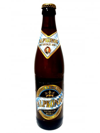 Альпкёнинг Баварский Хелл / Alpkonig Bayerisch Hell 0,5л. алк.4,8%