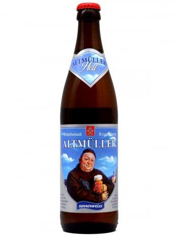 Альтмюллер Хефе-Вайсбир / Altmuller Hefe-Weissbier 0,5л. алк.5,4%